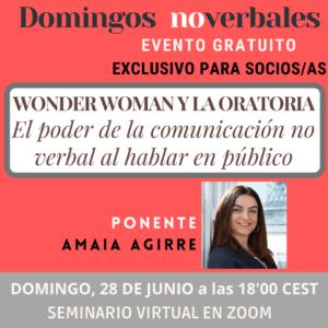 Webinar: Wonder Woman y la Oratoria