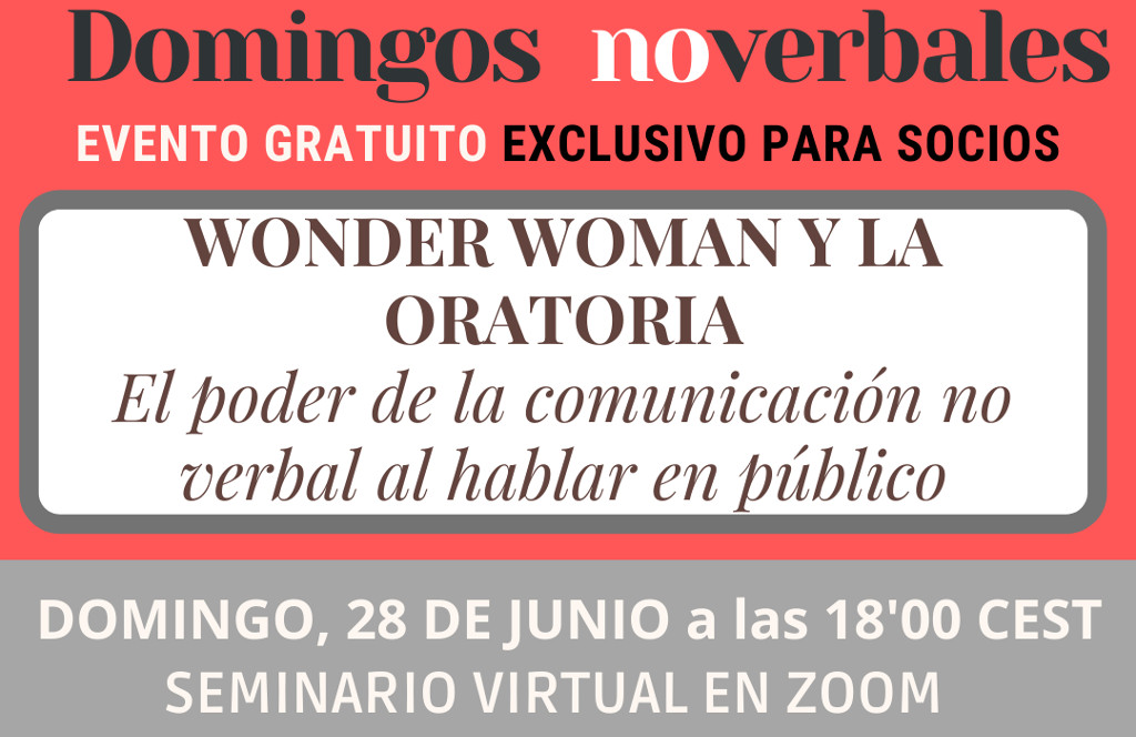 Webinar: Wonder Woman y la Oratoria