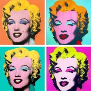 Marilyn por Andy Warhol