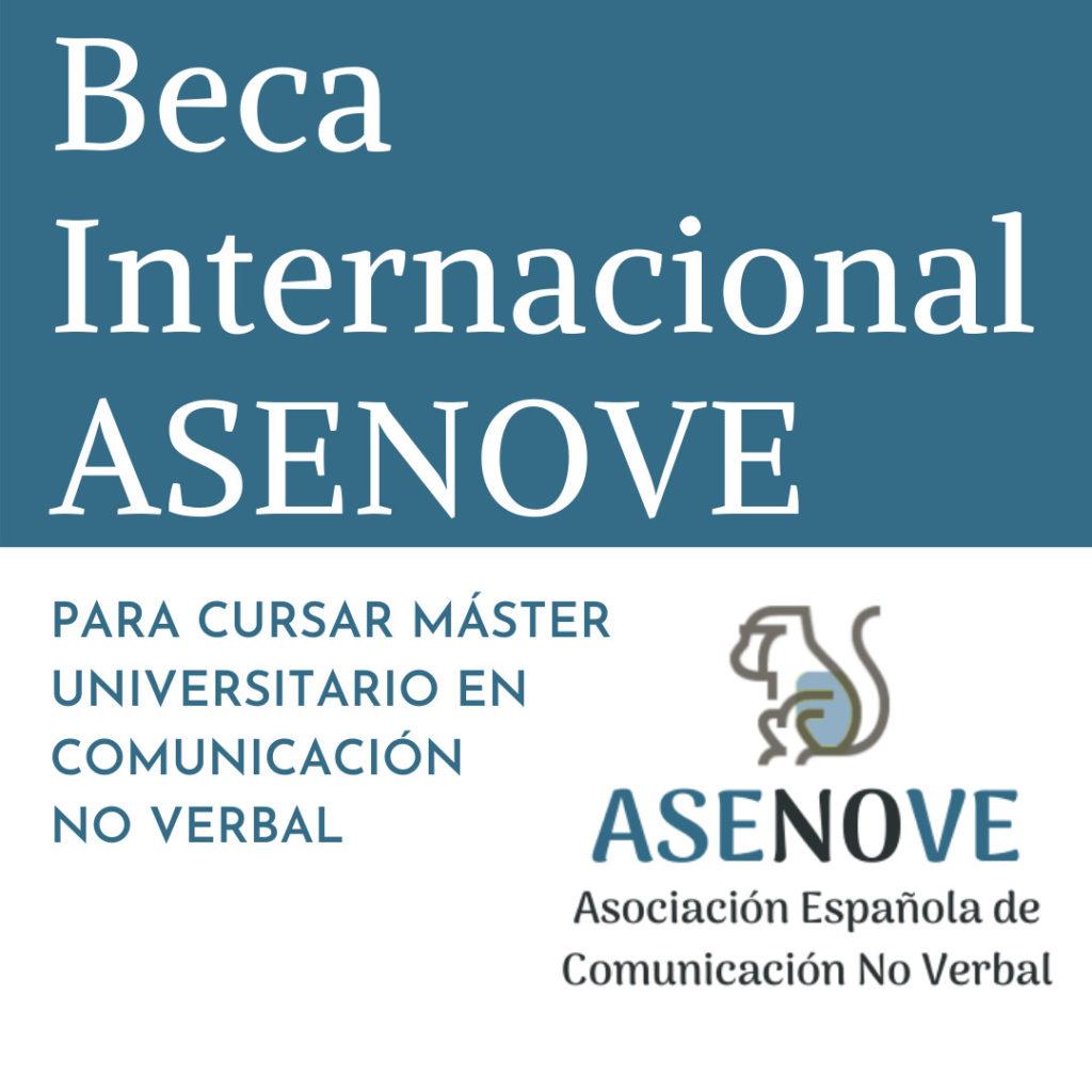 Beca Internacional ASENOVE